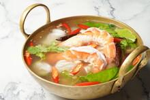 Thai Clear Tom Yum Seafood Soup