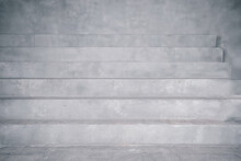 Abstract Concrete Stair Background. Abstract Background With A Staircase
