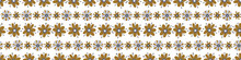 Masculine Floral Seamless Pattern. Classic Retro Flower Motif Shape For Digital Scrapbook Paper And Repeatable Men Gift Wrap Design In Vector.