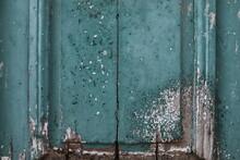 Fragment Of An Old Door Made Of Natural Wood, Greece, Halkidiki, Arnaia