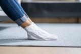 Fototapeta Kawa jest smaczna - Exfoliating Feet Peel Mask To Remove Callus