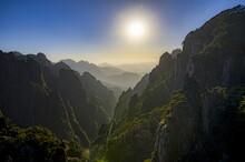 Anhui Huangshan And Sun