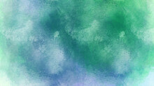 Blue Watercolor Background.textured Messy White Paint Stripe Angled On Blue Background