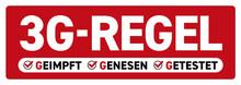 3G-Regel-Sticker_rot Corona Virus