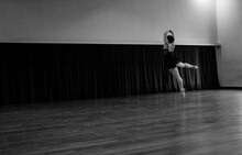 Ballerina In The Move