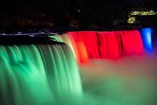 American Falls, Niagara Falls At Night