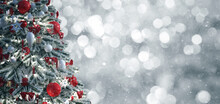 Christmas Tree, Merry Christmas And Happy Festivities Concept