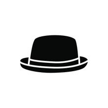 Hat Icon Vector. Head Wear Illustration Sign. Reject Symbol.