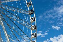 Seattle WA Close Up Of Ferris Wheel