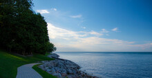Nice Little Paved Path On The Shores Of Lake Ontario In Niagara-on-the-Lake