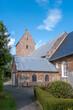 canvas print picture - Kirche St. Nicolai, Bodixum, Insel Föhr