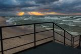 Fototapeta Fototapety z morzem do Twojej sypialni - Morze bałtyckie Zachód słońca chmury