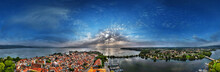 Lake Bodensee And Lindau Airpano