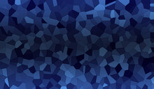Abstract Geometric Background, Random Polygons, Shapes Texture, Clouds Pattern, Blue Color Gradients, Fractals