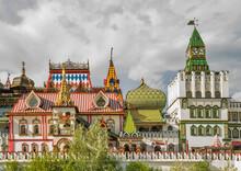 Izmailovo Kremlin In Moscow. Russia