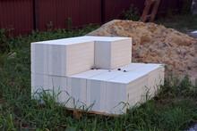 Building Bricks Blocks Pile White