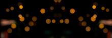 Colorful Bokeh Lights - Halloween Background