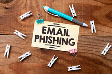Text Showing Inspiration Email Phishing. Business Showcase Emails That May Link To Websites That Distribute Malware Colorful Perpective Positive Thinking Creative Ideas And Inspirations