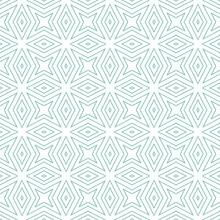 Arabesque Hand Drawn Pattern. Turquoise Symmetrical Kaleidoscope Background. Textile Ready Emotional Print, Swimwear Fabric, Wallpaper, Wrapping. Oriental Arabesque Hand Drawn Design.