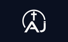 Simple And Circle Church Logo With Letters
