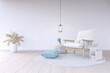 canvas print picture - Living Room Scandinavian Design