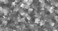 Illustration Abstract Monochrome Cubist Stylized Background