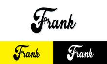 Frank Calligraphy