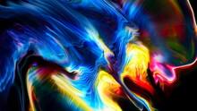 Fluide Liquide Art Acrylic Oil Paints Texture. Backdrop Abstract Mixing Paint Effect. Liquid Colored Acrylic Artwork Flows Splashes. Fluid Art Texture Overflowing Colors