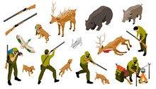 Hunting Isometric Set