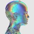 canvas print picture - Mensch und Technologie