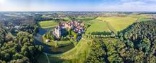 The Historic Castle Raesfeld In Westphalia, Germany