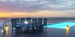 canvas print picture - Urlaub und Erholung im Hotel/Resort am Meer