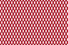Red Diamond Square Seamless Pattern Background, Abstract Red Diamond Square On White Background