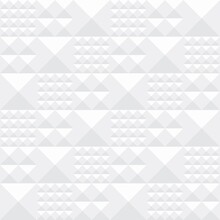 Seamless Mosaic Pattern With Pyramid Relief