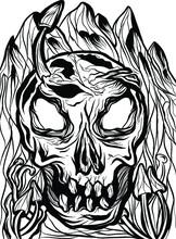 Halloween The Jack O Lantern For Illustration Art
