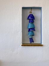 Blue Ceramic Wind Chimes