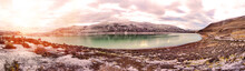 Lake Nordenskjold In Patagonia In Torres Del Paine National Park, In The South Of The Chili Province Magallanes Region And Antartica Chilena, Puerto Natales