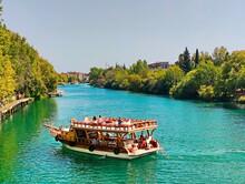 Turkey, Manavgat River, Boat, Travel, Day, Summer, Excursion, Horizon