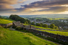 The Town Of Settle In North Yorkshire