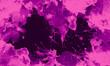 Czarne tło z liliowymi plamami.