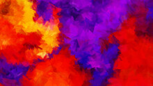 Modern Colorful Brushstroke Painting Background. Abstract Texture Background.