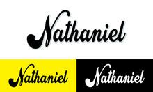Nathaniel Calligraphy