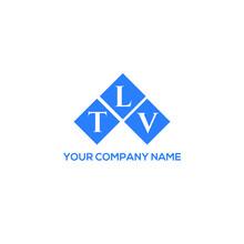 TLV Letter Logo Design On White Background. TLV Creative Initials Letter Logo Concept. TLV Letter Design.