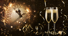 New Years Eve Celebration Background