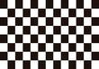 Fondo de ajedrez con casillas negras y blancas.