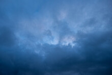 Thunderstorm Clouds In The Late Afternoon
