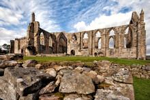 Ruins Of Bolton Abbey, Ilkley, Yorkshire