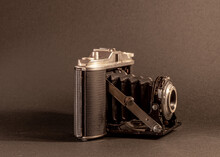 Photographic Camera Of The 50s With Bellows