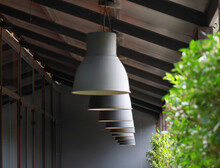 Bulb Hanging On A Wall