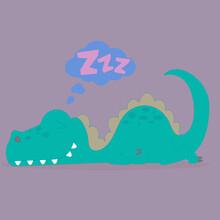 The Sleeping Dino